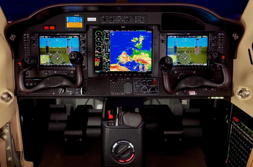 TBM900 cockpit